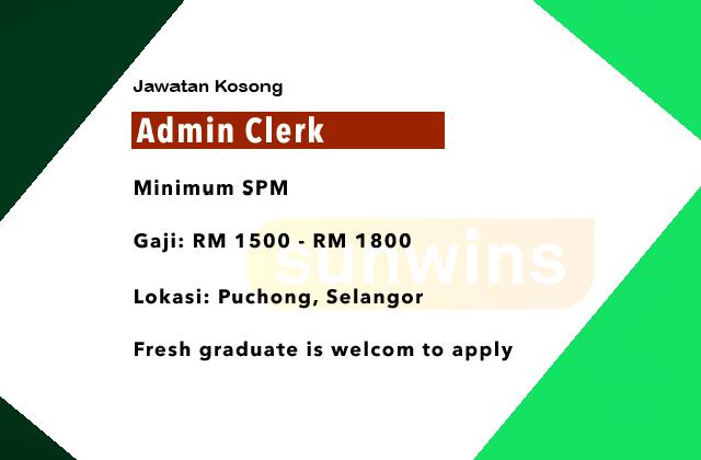 Seremban H Kerja Kosong Fresh Graduate Selangor